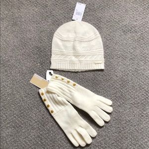 Michael Kors mitten and matching hat